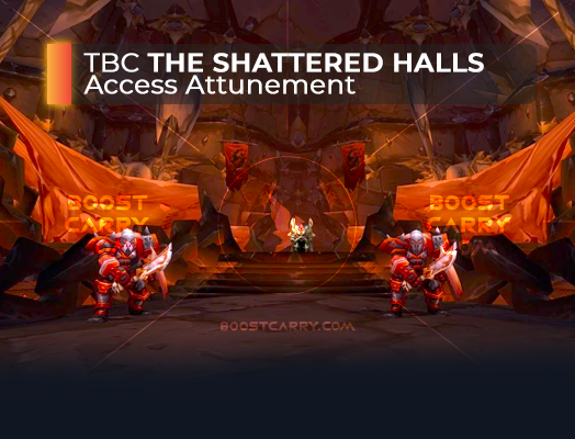 wow tbc the shattered halls access attunement
