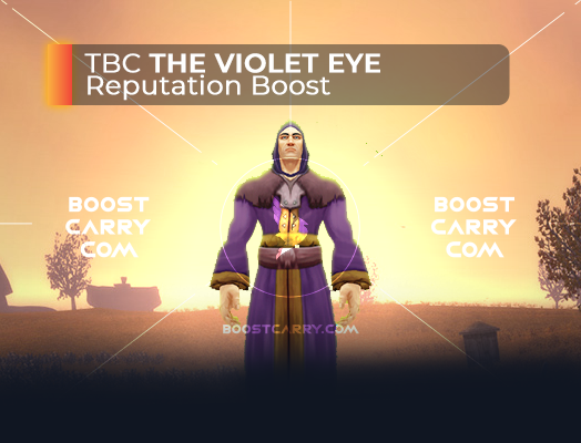 wow tbc the violet eye rep boost