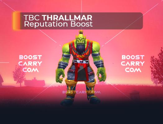 wow tbc thrallmar rep boost