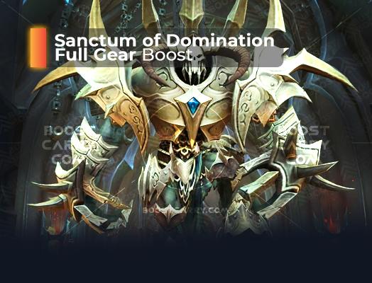 Sanctum of Domination Full Gear Boost