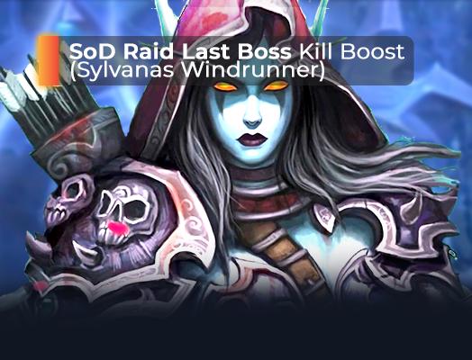 SoD Raid Last Boss kill boost
