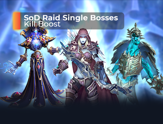 SoD Raid Single Bosses Kill Boost
