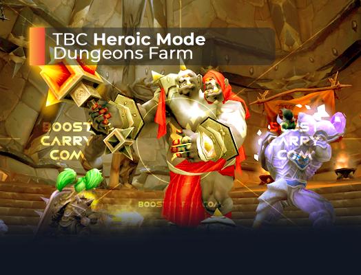 wow tbc heroic dungeons farm