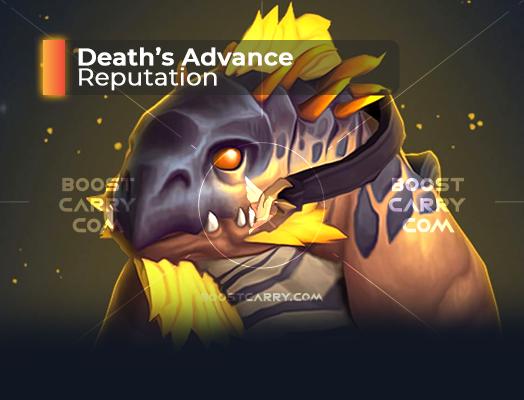 Death's Advance Reputation