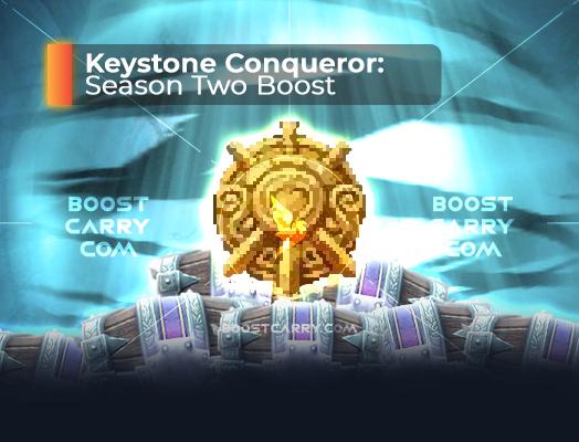 keystone conqueror season two boost