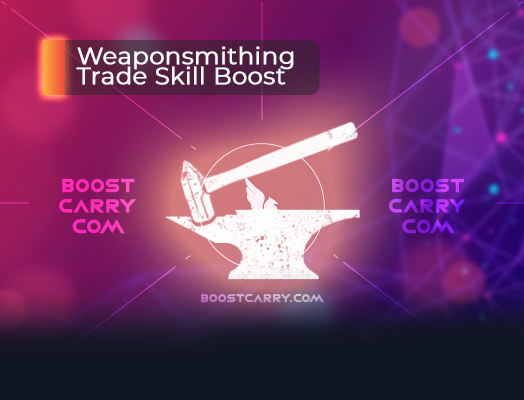 Weaponsmithing Trade Skill Boost